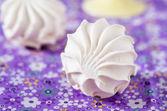 Vanilla marshmallows, selective focus — Stock Photo