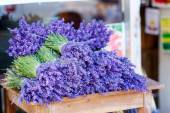 Shop in Provence decorated with lavender and vintage things. — Stock Photo