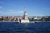 Maiden tower in Istanbul, Turkey — Stock Photo