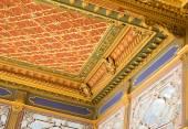 Beautiful decoration inside Topkapi palace in Istanbul, Turkey — Stock Photo