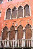 Facade of Giacomo Casanova house, Venice, Italy — Stock Photo