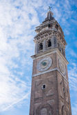 View on bell tower of the church, Venice, Italy — Stock Photo