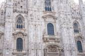 Milan Cathedral (Duomo di Milano), the gothic cathedral church of Milan — Stock Photo