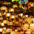 Lanterns on sale at Grand Bazaar in Istanbul — Φωτογραφία Αρχείου #68100019