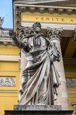 Facciata di san giovanni basilica, eger, ungheria — Foto Stock