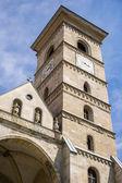 Saint Michael Roman Catholic Cathedral in Carolina White Fortress Of Alba Iulia City In Romania — Stock Photo
