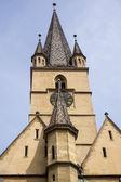 Lutheran Cathedral, Sibiu city, Romania — Stock Photo