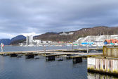 Storm Clouds Gathering Over Gandafjorden Sandnes Norway — Stock Photo