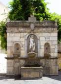 фонтан венеры ciprea кастельбуоно в сицилии — Стоковое фото