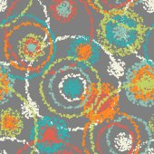Abstract spotty seamless pattern — Vecteur