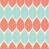 Bright seamless leaves — Stock Vector