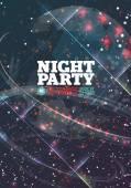 Night party Vector — Stock Vector
