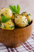 Salad new potatoes — Stock Photo