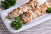 Chicken shish kebab — Stock Photo