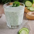Постер, плакат: Drink from cucumber