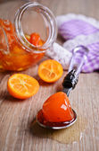 Jam from kumquats — Stock Photo