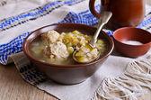 Thick soup — Stock Photo