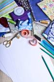 Accessories for the tailor or designer — Stock Photo