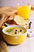 Pate covered with fat — Stock Photo