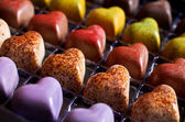 Candy in the shape of a heart — Foto de Stock