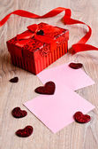 Composition for Valentine's Day — Stock Photo