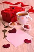 Composition for Valentine's Day — Foto Stock