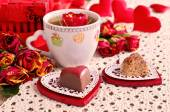 Композиция для Святого Валентина — Стоковое фото