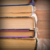 The background of the pages of old books — Foto Stock