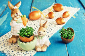 The composition of Easter — Stock Photo