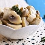 Preserved mushrooms — Stock Photo #69825299