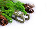 Composition for Christmas — Stock Photo