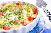 Casserole with vegetables — Stock Photo