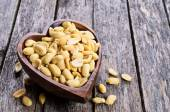 Cleaned peanuts — Stock Photo