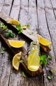 Drink of lemon — Stock Photo