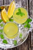 Drink of lemon — Stock Photo