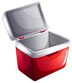 An ice bucket — Stock Vector