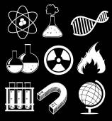 Science images — Stock Vector