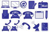 Different medium of communications — Stock Vector