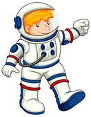 An astronaut — Vector de stock