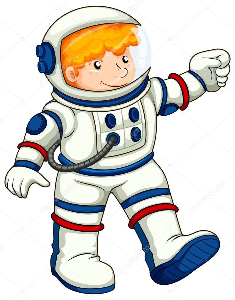一名宇航员 — 图库矢量图像08