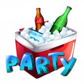 A party celebration — Stock Vector