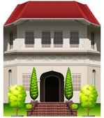 A big old building — Stock Vector
