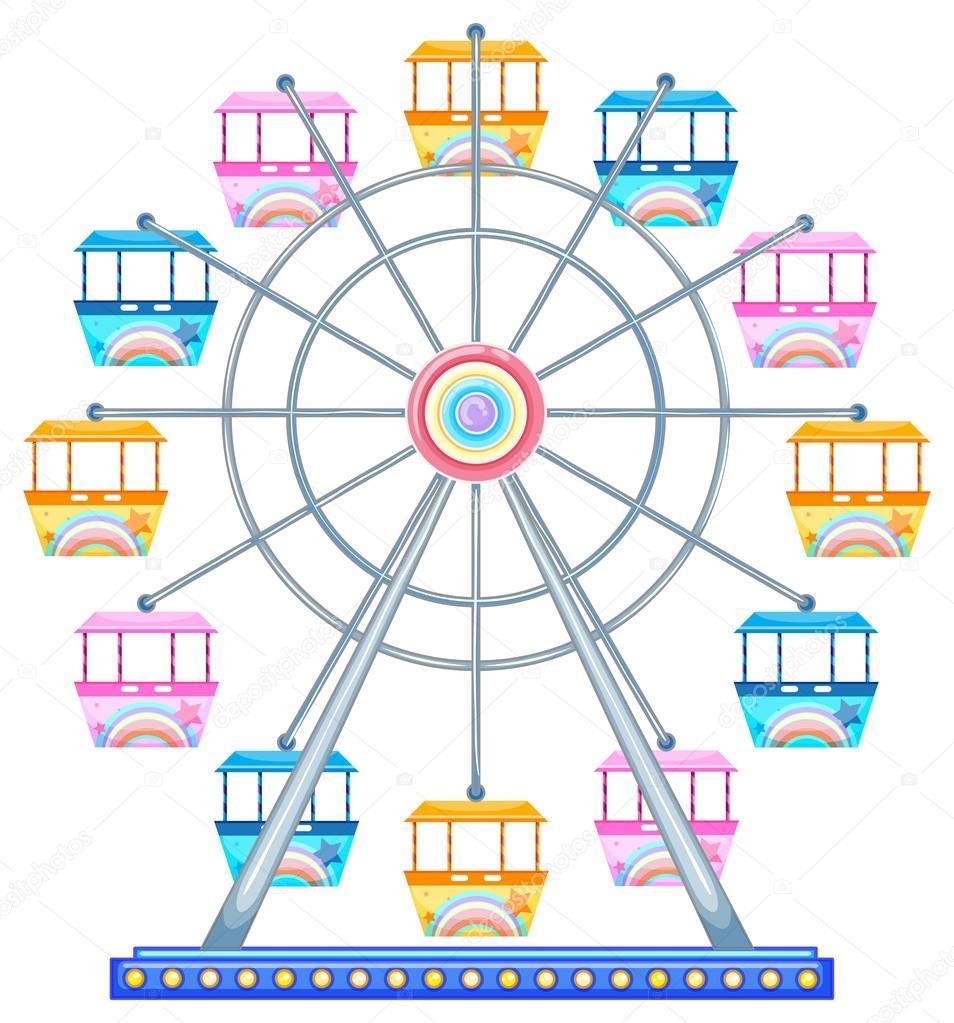 Download - Ferr... Ferris Wheel Vector Free Download
