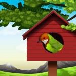 A bird — Stock Vector #58926327