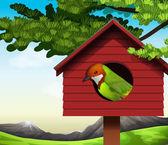 A bird — Stock Vector