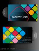 Business card — Stock Vector