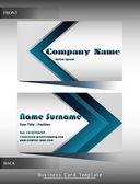 A company calling card — Stock Vector