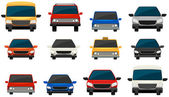 Set of vehicles — Stock Vector