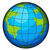 A globe — Stock Vector