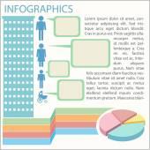 A graphical representation — Stock Vector
